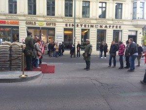 Berlino Checkpoint-Charlie