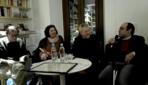 Presentazione Antologia Racconti Nella Rete 2017 a Milano libreria Verso